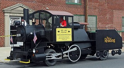 Restored A5a parade locomotive #1176.  Dale Woodland photo.
