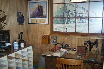 1930s Station Agent's Office