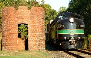 Reading FP7 #903 will haul excursions in October on the Perkiomen Branch.  Dale Woodland photo.
